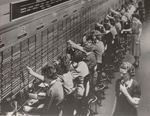 Traditional Standard PBX Switchboard