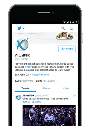 VirtualPBX Community on Twitter