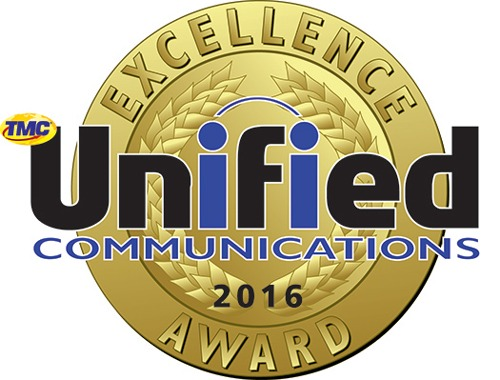2016 Unified Communications Excellence Award