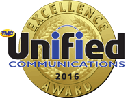VirtualPBX Awarded 2016 Unified Communications Excellence Award