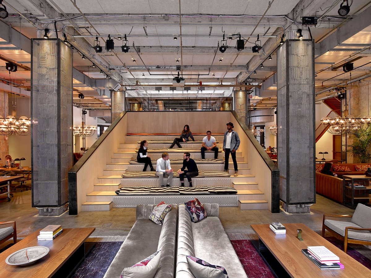 5 Most Beautifully Designed Coworking Spaces