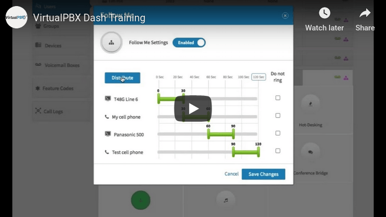New User Training - VirtualPBX Dash