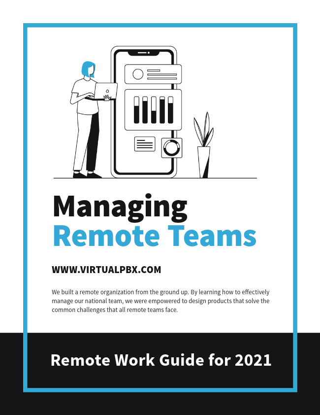 VirtualPBX Remote Team Management E-Book Cover